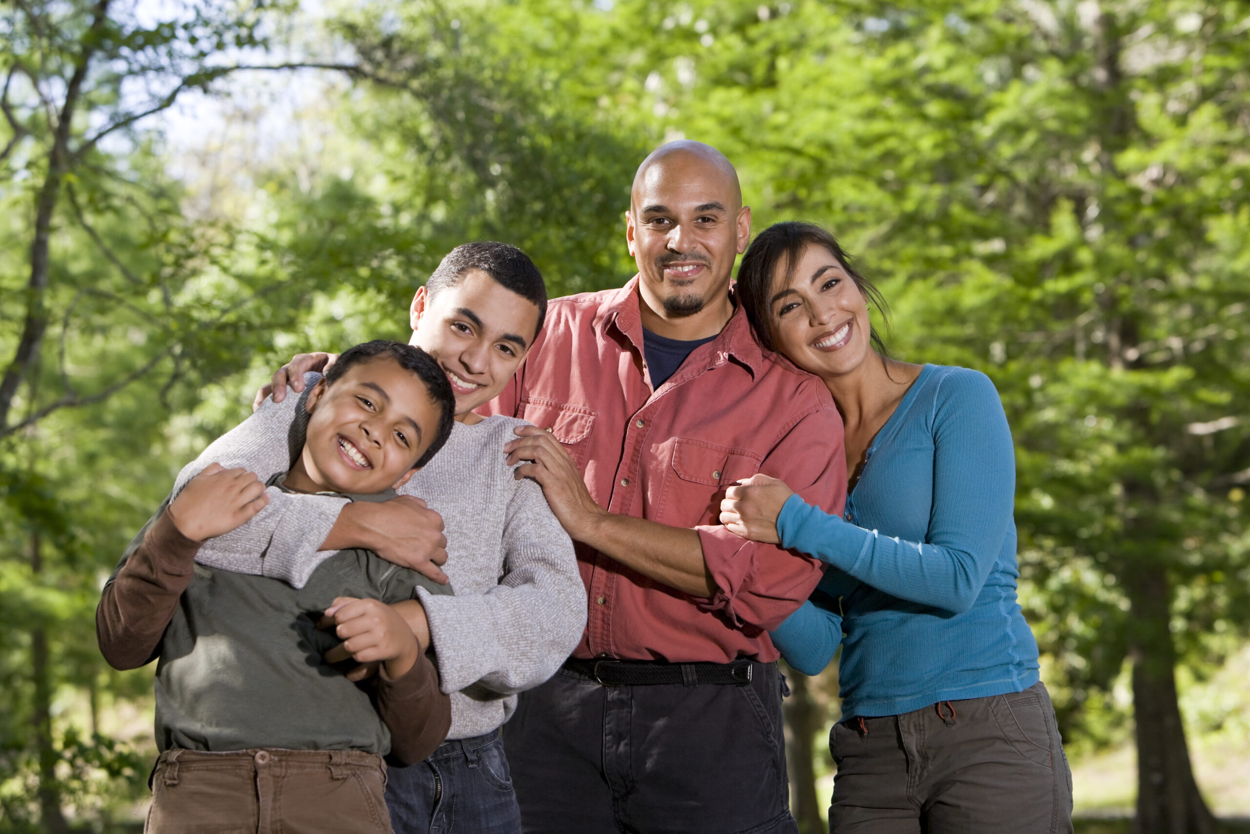 The family unit works well together after Family therapy in Gilbert, Arizona with Tino Silva